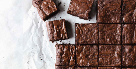 Soft Brownies with Olive Oil